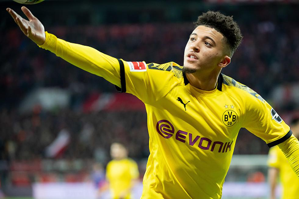 Jadon Sancho / Borussia Dortmund. (Foto: Agencias)