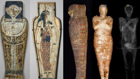"""Los arqueólogos polacos describieron el hallazgo como """"muy especial"""". (PROYECTO DE MOMIAS DE VARSOVIA)."""