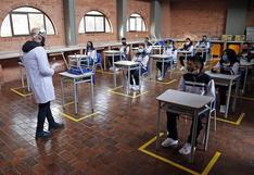 Cómo es el retorno a clases presenciales en los colegios de Bogotá en medio de la pandemia | FOTOS