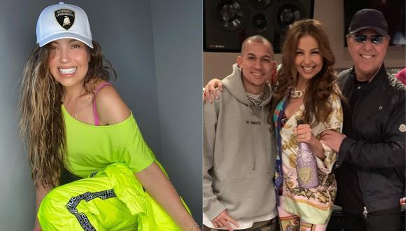 Thalía expresó sus buenos deseos al exitoso productor del género urbano. (Foto: @thalia)