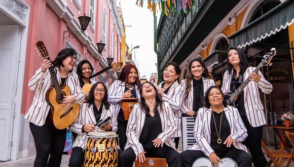 La agrupación rendirá un homenaje a la trayectoria musical de cinco compositoras criollas desde el próximo 29 de agosto. (Foto:  Ambiente Criollo)
