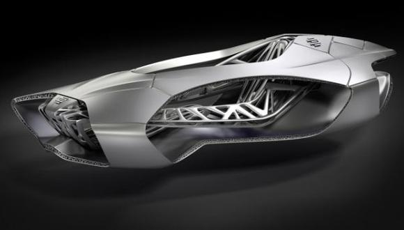 El auto del futuro con impresora 3D