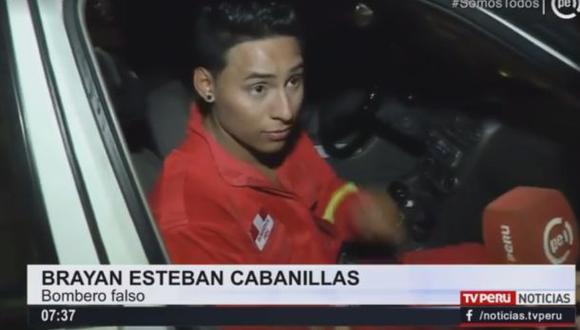 VMT: detienen a joven por usar traje de bombero en discotecas