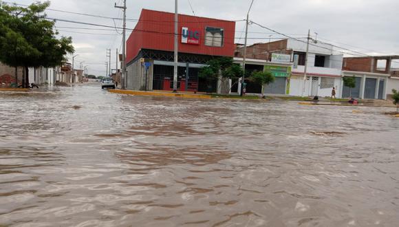 En Piura, las precipitaciones llegaron a casi 120 milímetros por metro cuadrado. (Foto: Tania Bautista)