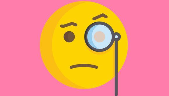 ¿Realmente conoce el significado de este emoji de WhatsApp? Esto es lo que quiere decir la cara con monóculo. (Foto: Emojipedia)