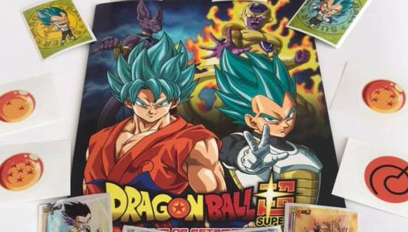 "Álbum de ""Dragon Ball Super"" bajo la marca Panini. (Foto: Facebook)"