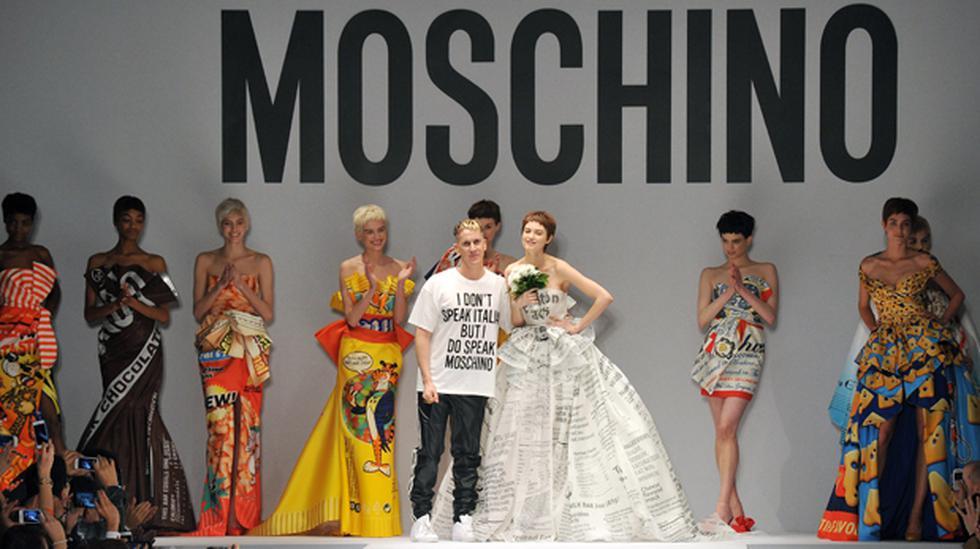 Moschino se inspira en la comida chatarra para su colección - 1