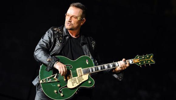 """Bono de U2: """"No está claro si voy a tocar otra vez la guitarra"""""""