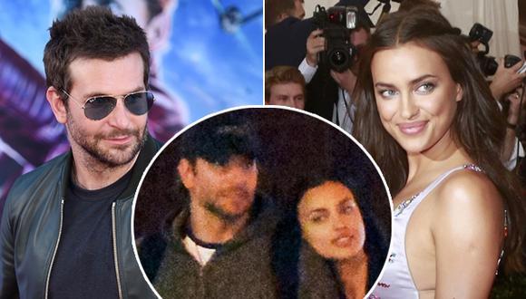 Irina Shayk olvida a Cristiano Ronaldo con Bradley Cooper