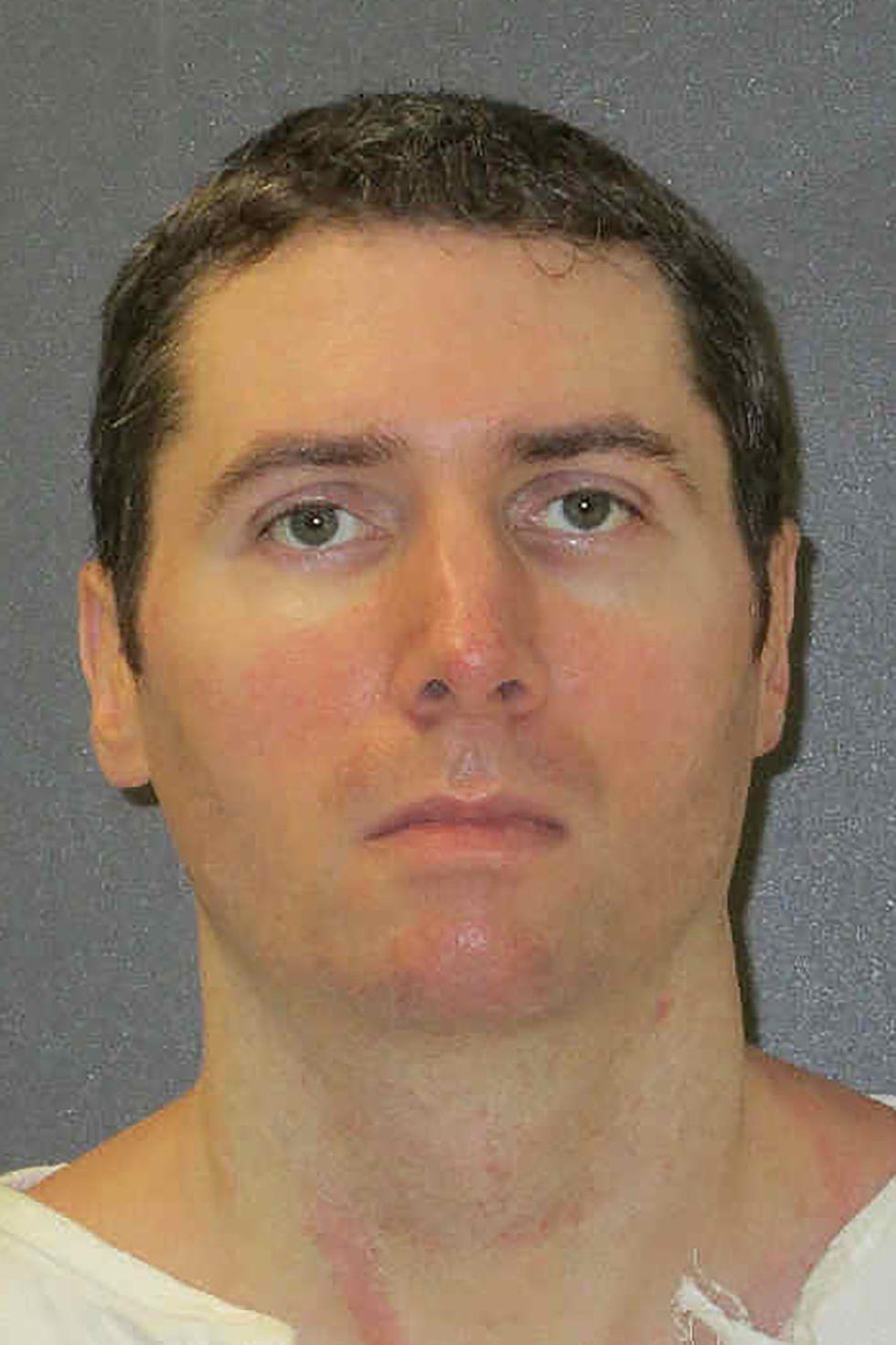 Fotografía difundida por el Departamento de Justicia Criminal de las Texas, sin fecha, de Justen Hall. Este miércoles, Hall se convertirá en el noveno reo ejecutado en ese estado tras ser hallado culpable del asesinato de Melanie Billhartz en el 2002. (AP)