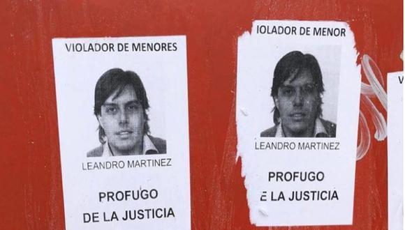 Leandro Martínez, huyó por la puerta de atrás de su casa situada en en country en Moreno. Foto: La Nación de Argentina