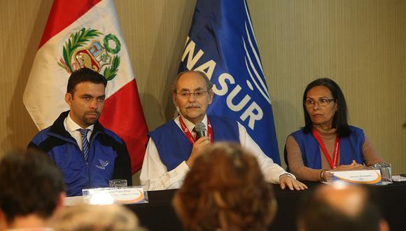 Una de las últimas actividades de Unasur en el Perú fue el envío de una comisión que supervisó el proceso electoral del 2016. (Archivo El Comercio)