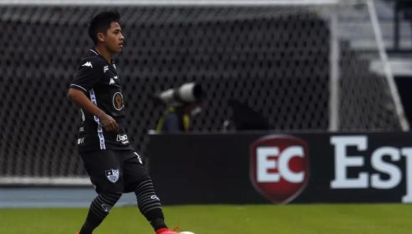 Alexander Lecaros va sumando minutos en Botafogo y buscará entrar a la lista de convocados para las próximas eliminatorias. (Foto: Globoesporte)