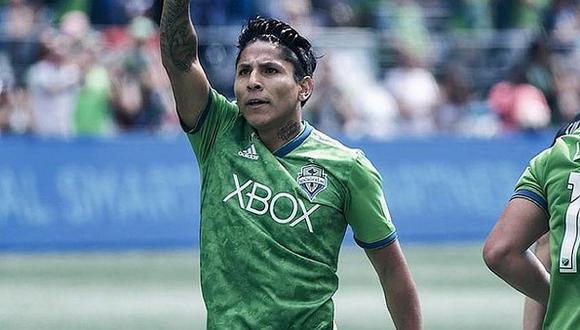 Raúl Ruidíaz juega actualmente en el Seattle Sounders de la MLS. (Foto: MLS)