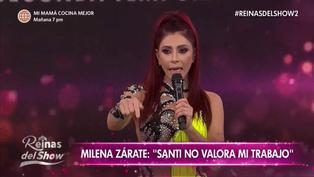 Milena Zárate se retiró del set llorando tras confrontación con Santi Lesmes