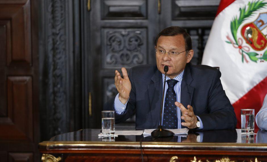 El canciller Néstor Popolizio confirmó que Alan García abandonó la residencia del embajador de Uruguay. (FOTO: USI)