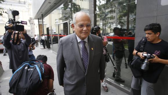 El rector de la UNI, Jorge Alva, consideró que se deben revisar los cuestionamientos surgidos contra miembros de la JNJ. (Foto: Renzo Salazar / GEC)