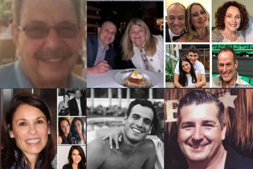 Algunas de las personas que fueron reportadas como desparecidas. Sus fotos se viralizaron en redes sociales.