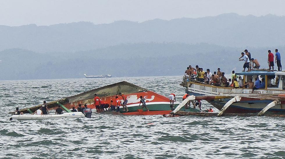 Mueren 36 personas tras naufragio de un ferry en Filipinas - 7