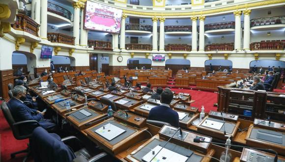 Solo los representantes de las bancadas del Partido Morado y el Frente Amplio se opusieron a que este miércoles se realice el pleno para debatir la selección de candidatos. (Foto: Congreso)