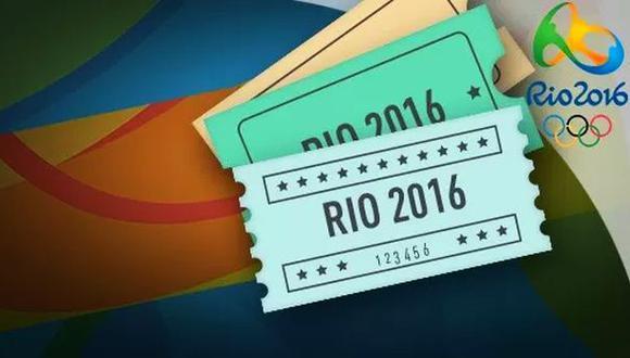 Río 2016: más de 120 mil boletos vendidos en una hora