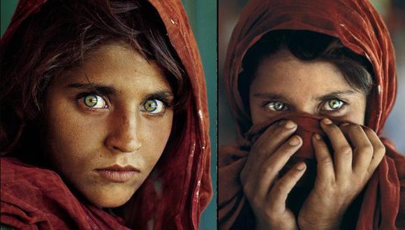 ¿La recuerdas? La afgana de los ojos verdes fue arrestada