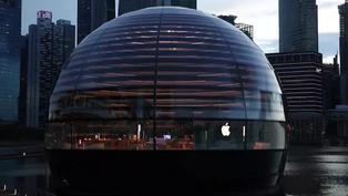 Apple inaugura en Singapur su primera tienda flotante
