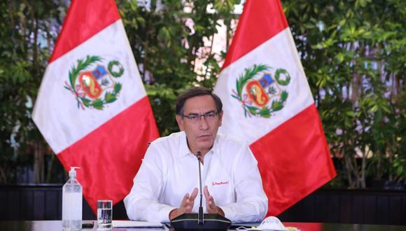 Presidente Martín Vizcarra presentó pedido de facultades con once puntos (Foto: Palacio de Gobierno)
