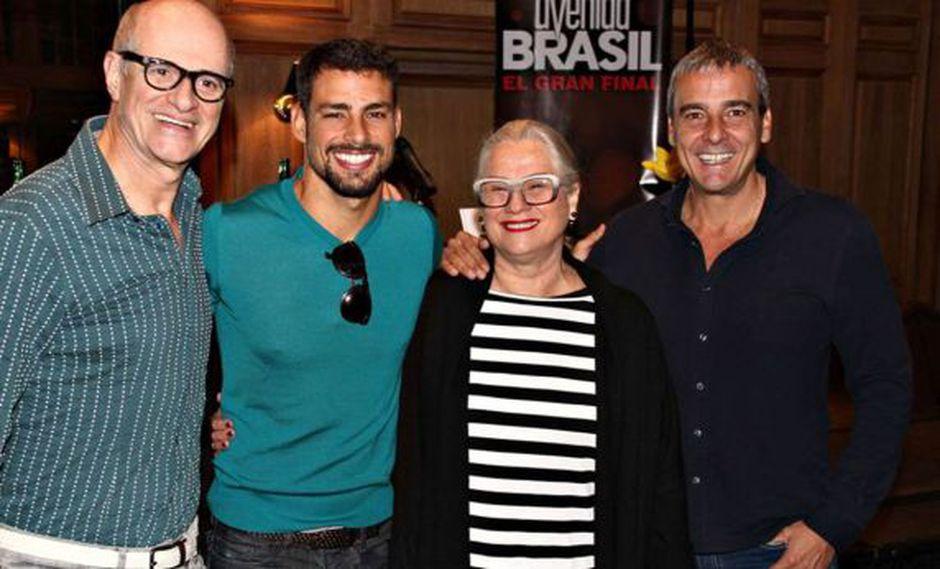 "Actores de ""Avenida Brasil"" causaron furor en Argentina"