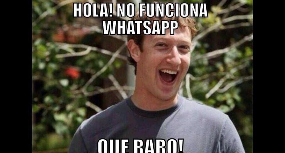 Así fueron las burlas en internet por la caída de WhatsApp - 2