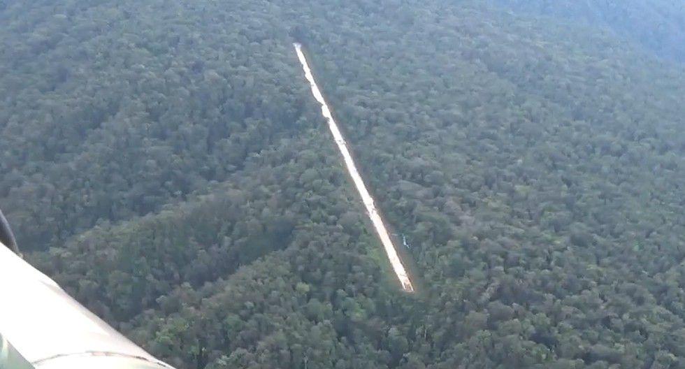 Detectan más de 122 pistas clandestinas utilizadas para el comercio aéreo del narcotráfico (Foto; CC. FF. AA.)