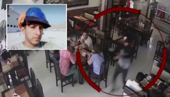 En pasado pasado, un vigilante venezolano falleció tras enfrentarse con Erick Veliz Taipe, de 26 años, quien había asaltado el chifa Tai Hu  (América Noticias)