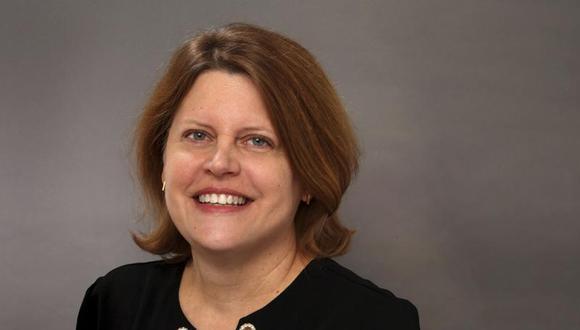 Sally Buzbee, la nueva directora de The Washington Post. (AP Photo/Chuck Zoeller).