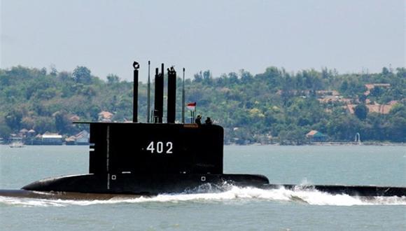 Imagen del submarino KRI Nanggala-402 durante una misión. (Foto: EFE)
