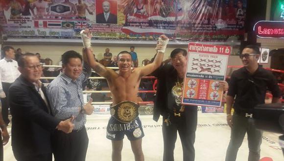 Mansilla es cuatro veces campeón sudamericano de muay thai y en el 2016 se coronó campeón panamericano. (Foto: Difusión)