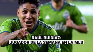 Raúl Ruidíaz: delantero no deja de sorprender en la MLS