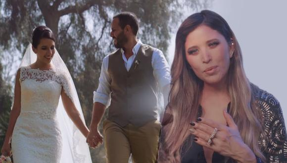 """Anna Carina Copello estrena """"Dame tu cariño"""" junto al colombiano Gusi. (Foto: Captura de video)"""