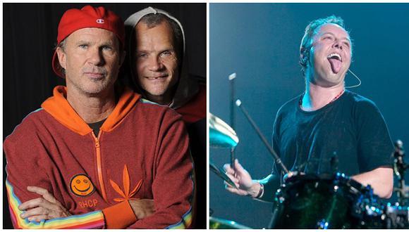 Bateristas de Metallica y RHCP se batirán en un duelo musical
