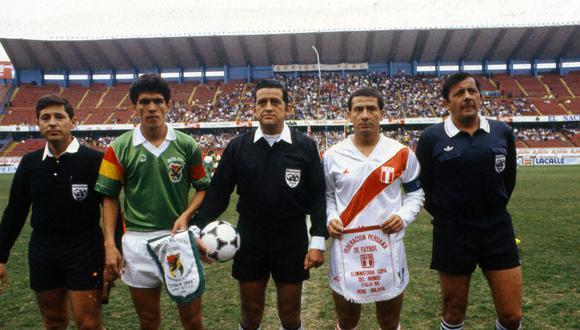 Luis Reyna fue uno de los cuatro capitanes de Perú en el camino a Italia 1990. (Foto: Archivo Histórico El Comercio)