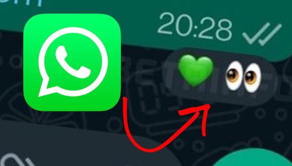 De esta manera podrás activar las reacciones de WhatsApp primero. (Foto: WABeta Info)