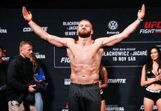 Blachowicz venció a Ronaldo 'Jacare' Souza en el combate estelar de la UFC Night Sao Paulo
