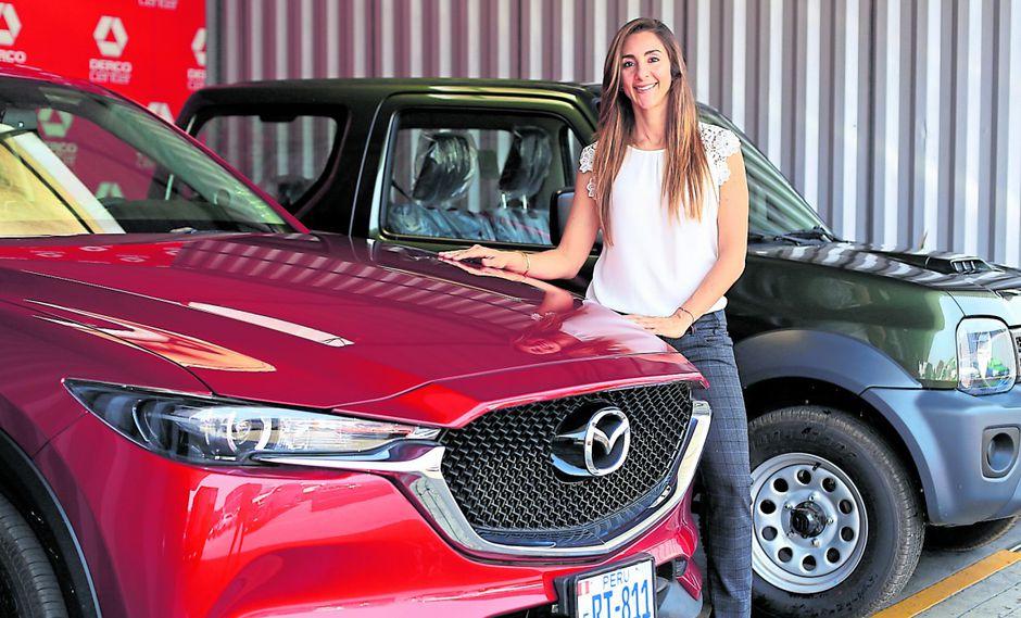 Derco vendería más de 30.000 vehículos en el año 2020, proyecta la gerenta de Derco Empresas, Margorie Scander. (Foto: Jéssica Vicente)