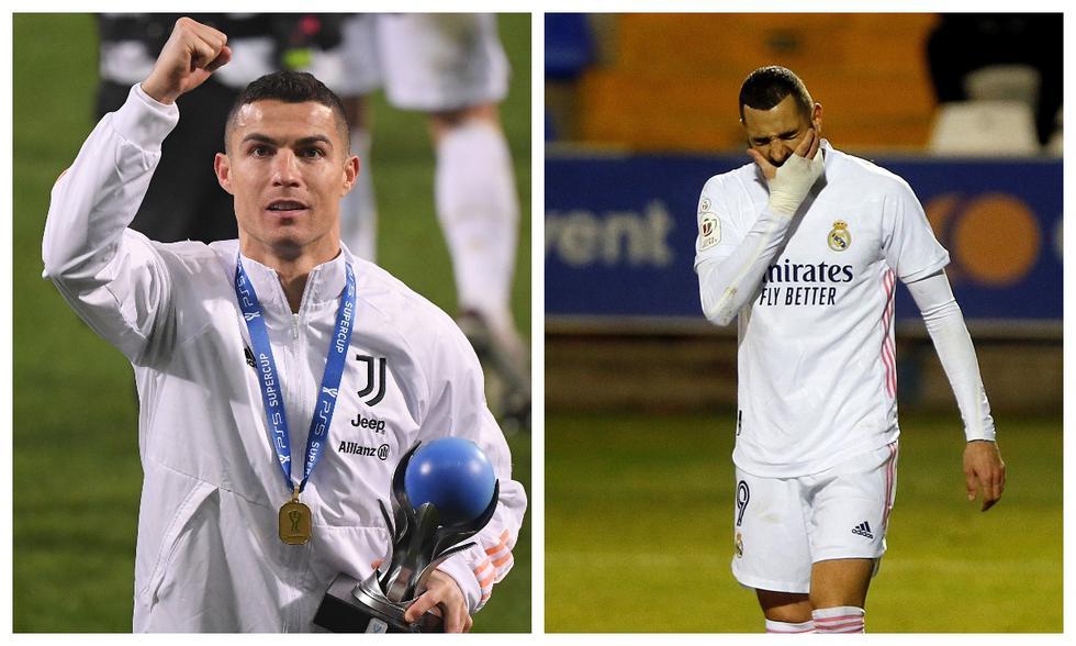 Cristiano Ronaldo sonríe, mientras el Real Madrid fracasa: un día peculiar en el fútbol internacional | FOTOS