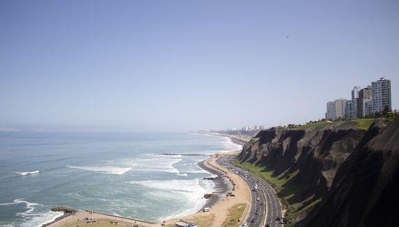 La costa verde de Lima. (Foto: Pixabay)