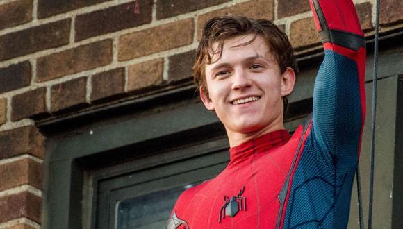 Tom Holland celebró su regreso al Universo Cinemático de Marvel. (Foto: Sony Pictures)