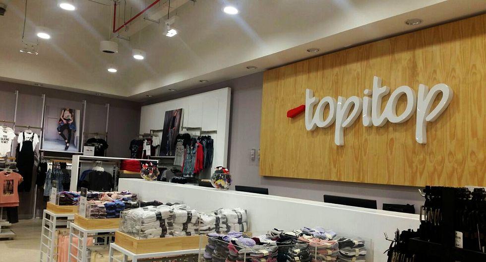 La marca de ropa Topitop reanudó sus operaciones en su local de Piura, ubicado en el centro comercial Open Piura. En su reapertura, la empresa brindó descuento de hasta un 30% y regaló vales de compra por S/300 a 50 clientes. (Foto: El Comercio)