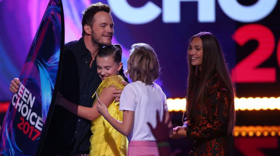 Teen Choice Awards: Chris Pratt reaparece en televisión tras anuncio de divorcio
