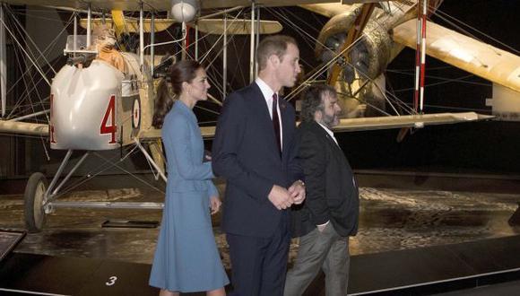 Peter Jackson fue guía del príncipe William y Kate Middleton