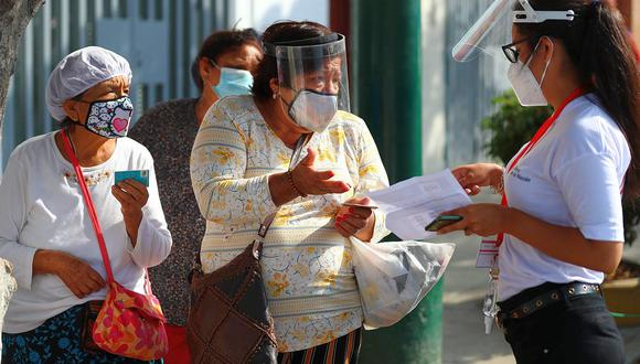 El Gobierno entrega el Bono 350 a familias vulnerables desde el pasado 13 de setiembre. (Foto: GEC)
