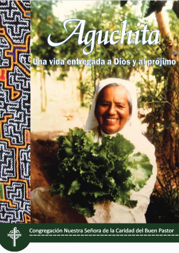 Libro sobre Antonia Luzmila, 'Aguchita'. Se encuentra disponible en la página web Causa Aguchita.